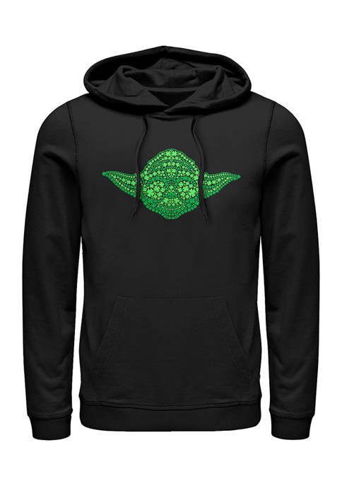 Yoda Clovers Fleece Graphic Hoodie