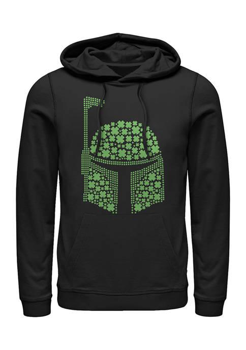 Star Wars Boba Clovers Graphic Fleece Hoodie