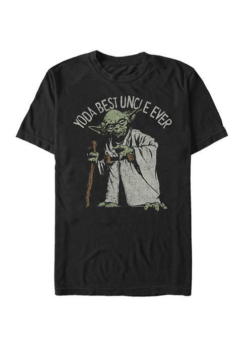 Big & Tall Star Wars® Green Uncle Graphic Short Sleeve T-Shirt