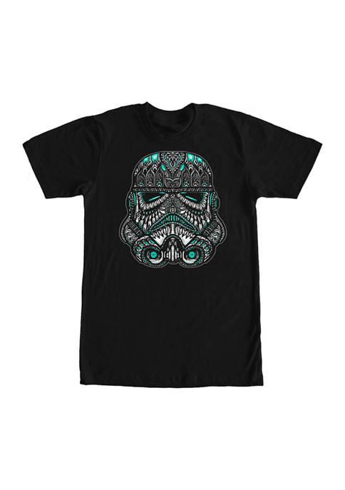 Big & Tall Star Wars® Trooper Head Graphic Short Sleeve T-Shirt
