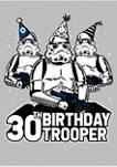 Juniors Birthday Trooper Fourty Graphic T-Shirt