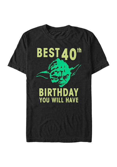 Yoda Forty Graphic T-Shirt