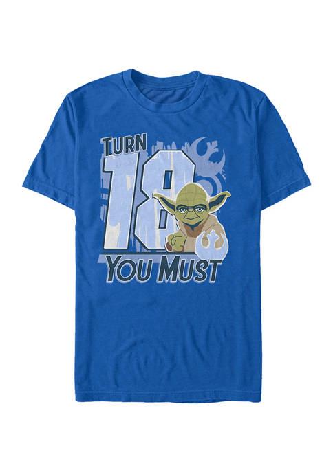 Turn 18 U Must Graphic T-Shirt
