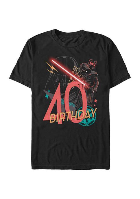 Star Wars® Vader 40th Bday Graphic Short Sleeve