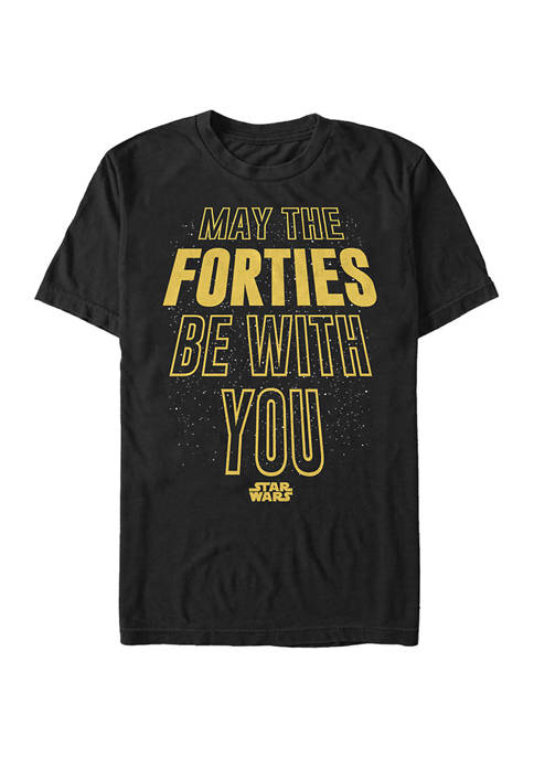 Star Wars® Forties Be With You Graphic Short
