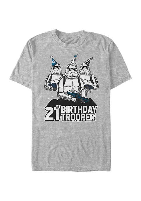 Star Wars® Birthday Trooper Twenty One Graphic Short