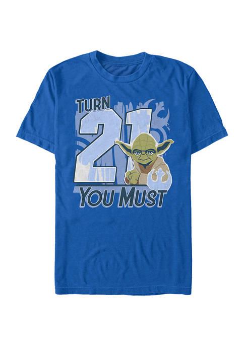 Star Wars® Turn 21 U Must Graphic Short