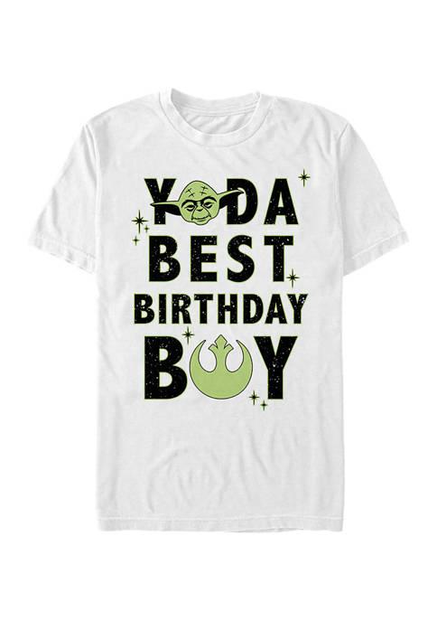 Star Wars® Yoda Best Birthday Boy Graphic Short