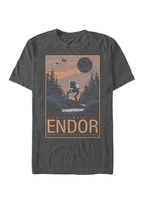 Star Wars® Endor Park Service Short Sleeve T-Shirt