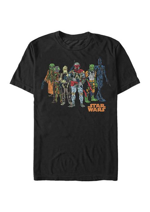 Big & Tall Star Wars® Squad Costumes Graphic Short Sleeve T-Shirt