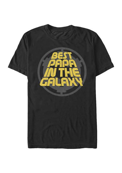 Big & Tall Star Wars Papa Vader Graphic Short Sleeve T-Shirt