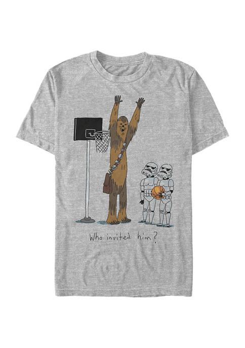 Star Wars® Chewie Basketball Short Sleeve Graphic T-Shirt