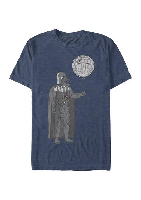 Death Balloon Short Sleeve Graphic T-Shirt