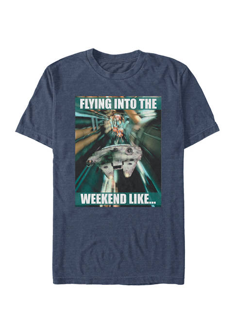 Star Wars® Flying Into The Weekend Short Sleeve