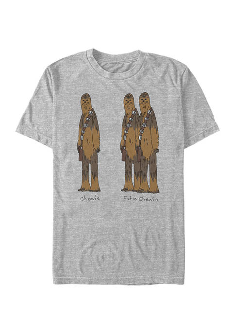 Extra Chewie Short Sleeve Graphic T-Shirt