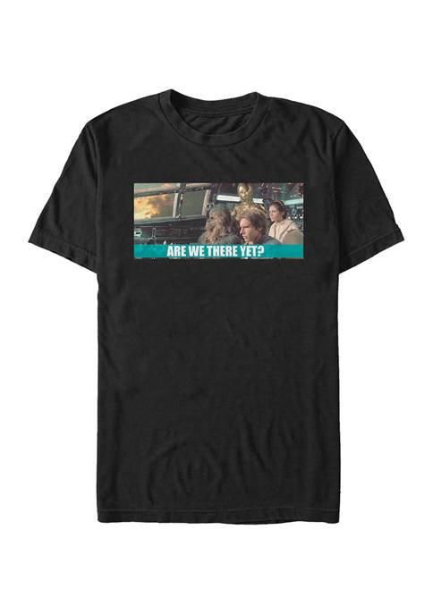 Star Wars® Are We There Yet Short Sleeve
