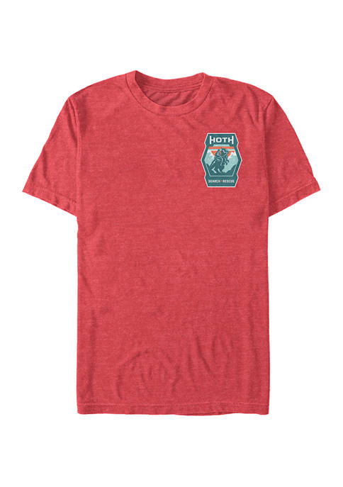 Hoth Search Short Sleeve Graphic T-Shirt