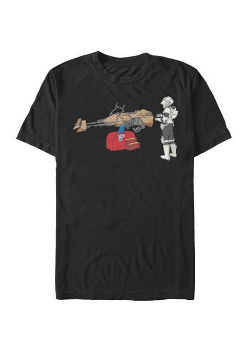 Trooper Ride Short Sleeve Graphic T-Shirt