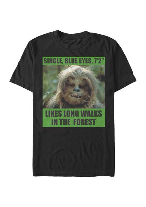 Likes Long Walks Short Sleeve Graphic T-Shirt