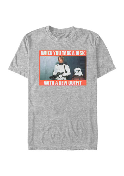 Star Wars® New Outfit Short Sleeve Graphic T-Shirt