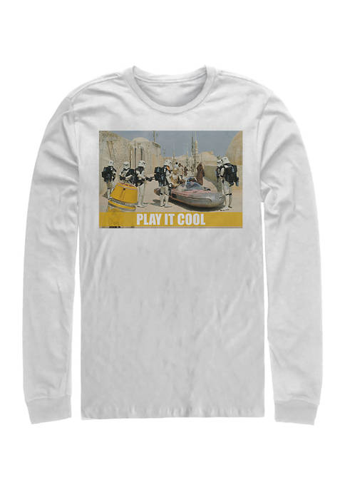 Play It Cool Long Sleeve Graphic T-Shirt