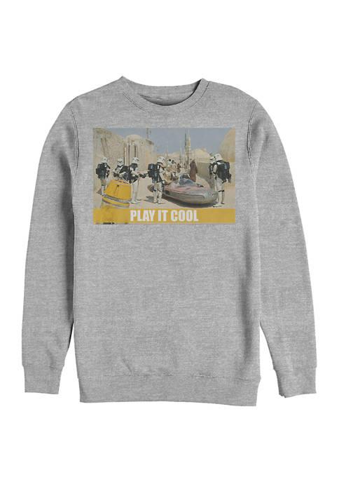 Star Wars® Play It Cool Fleece Graphic Sweatshirt