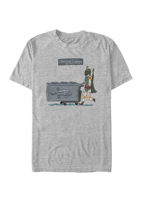 Oversized Luggage Short Sleeve Graphic T-Shirt