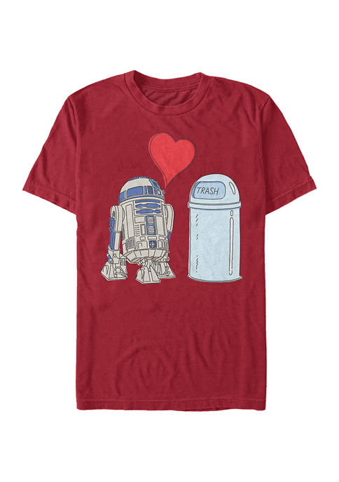 R2 Trash Short Sleeve Graphic T-Shirt
