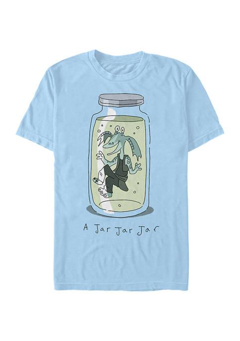 Jar Jar Jar Short Sleeve Graphic T-Shirt