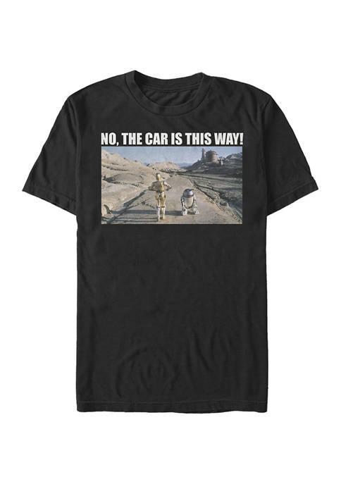 Wheres The Car Short Sleeve Graphic T-Shirt
