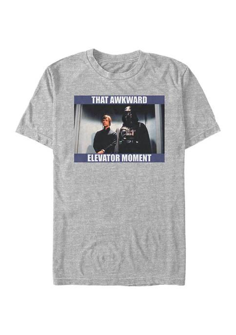 Star Wars® Awkward Elevator Moment Short Sleeve Graphic