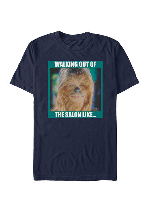 Walking Out The Salon Short Sleeve Graphic T-Shirt