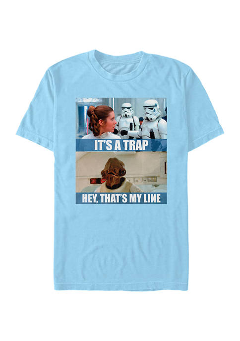 Star Wars® Its A Trap Short Sleeve Graphic