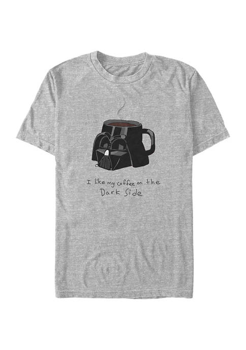 Coffee on the Dark Side Short Sleeve Graphic T-Shirt