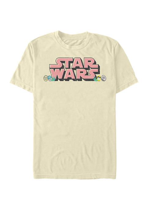 Star Eggs Short Sleeve Graphic T-Shirt