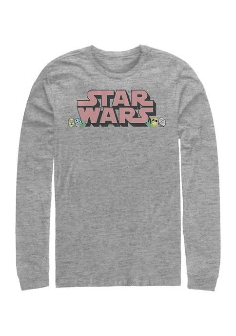 Star Wars® Star Eggs Graphic Long Sleeve T-Shirt