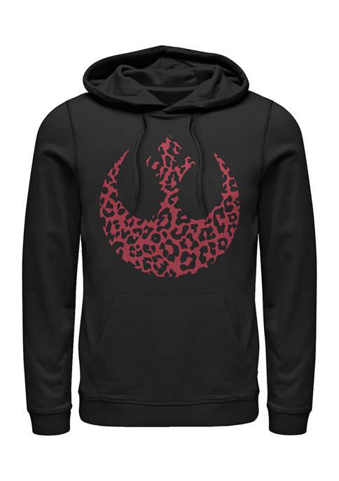 Rebel Cheetah Fleece Graphic Hoodie