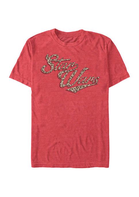 Star Wars® Cheetah Short Sleeve Graphic T-Shirt