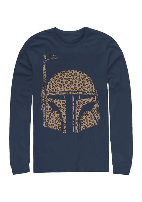 Boba Cheetah Long Sleeve Graphic T-Shirt