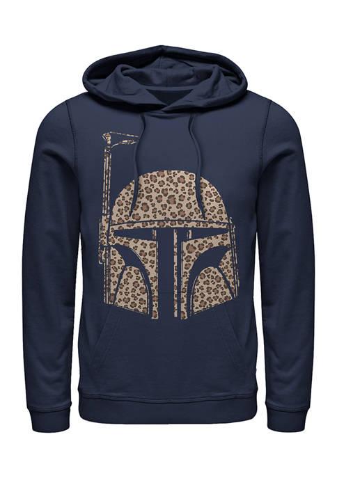 Boba Cheetah Fleece Graphic Hoodie