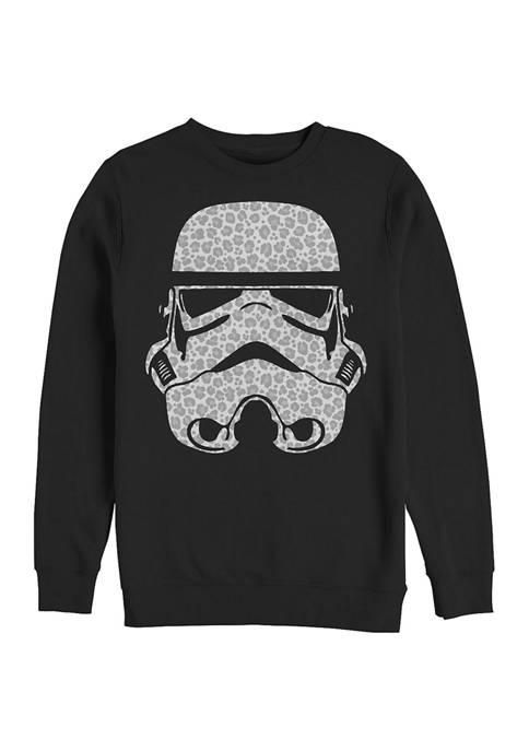 Leopard Trooper Fleece Graphic Sweatshirt