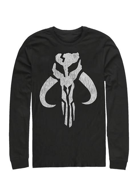 Mando Symbol Long Sleeve Graphic T-Shirt
