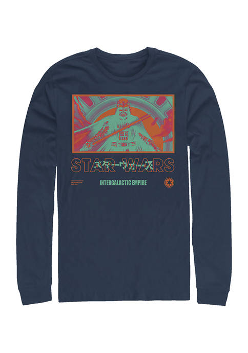 Bright Baddes Long Sleeve Crew Graphic T-Shirt