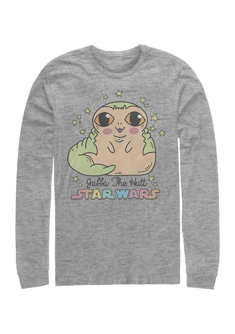 Jabba Wabba Long Sleeve Crew Graphic T-Shirt