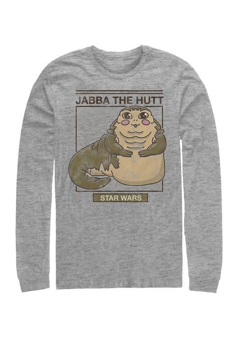 Star Wars® Cute Jabba Long Sleeve Crew Graphic