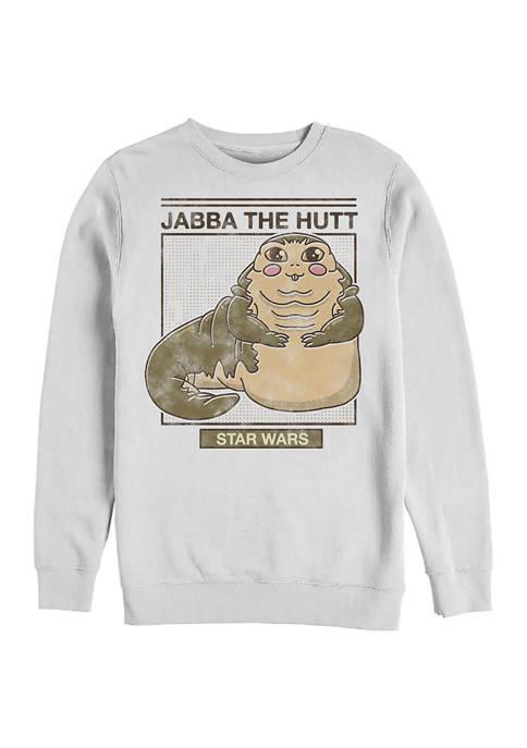 Star Wars® Cute Jabba Crew Fleece Graphic Sweatshirt