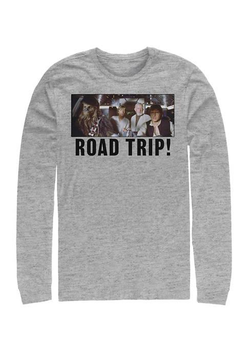 Star Wars® Road Trip Long Sleeve Crew Graphic
