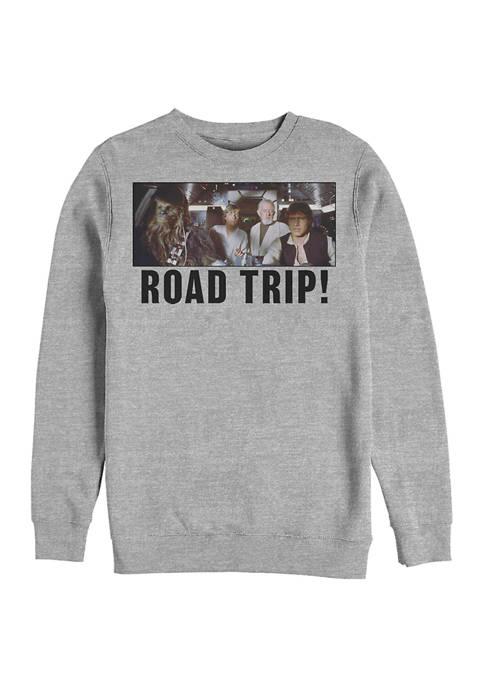 Road Trip Crew Fleece Graphic Sweatshirt