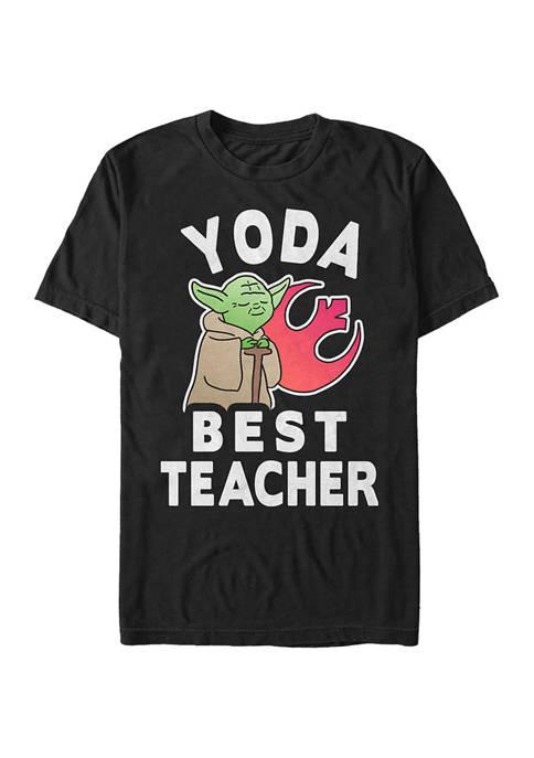 Yoda Techer Graphic T-Shirt