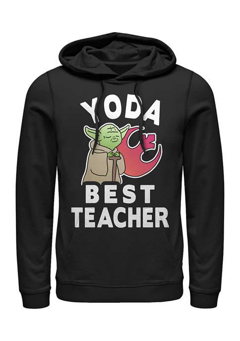 Star Wars® Yoda Teacher Fleece Graphic Hoodie